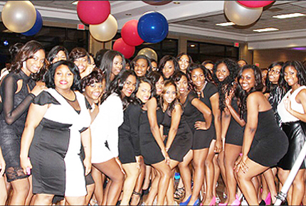Photo submitted by MDL Members of Modern Distinctive Ladies (MDL) attend their Black and White Affair on March 9, 2014.