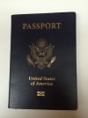 United States passport cover. Photo by Dominic Chase.