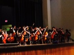 SCS students performing at Central High School in October
