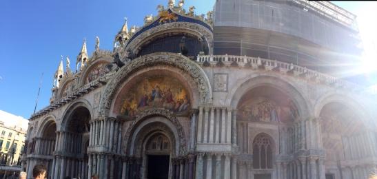 St. Mark's Basilica in Venice. Photo by Angelica Martini.