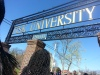 On the HBCU tour, students got a chance to visit Fisk University. Photo by Jasmine Williamson.