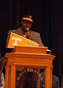 Another student going to UT. Photo by Elle Perry.